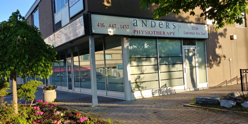 Front of Anders Physiotherapy